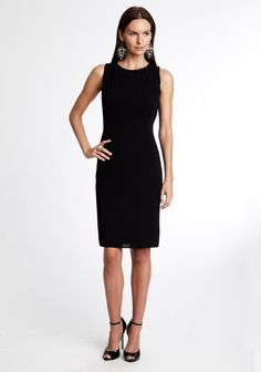 Little Black Dress #lbd basic black dress. Everyone should have one of these in her closet!