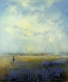 New hand signed and numbered fine art print of north western landscape, Flowers for the Table.