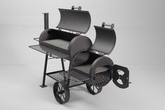 The Cheyenne 16″ Offset Grill & Smoker moves you beyond simply grilling (>325°F) and into the world of slow smoking (<250°F) and barbecuing (<325°F). The difference is this; the heat a…