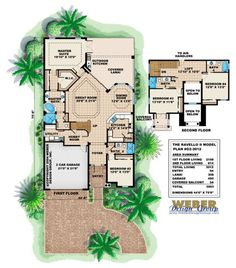 Ravello II House Plan-Narrow Lot Home Plans by Weber Design Group