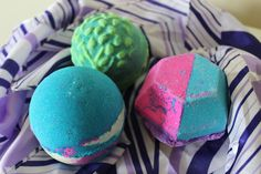 New Lush bath bombs from the Oxford Street store! Guardian of the Forest Intergalactic the Experimenter
