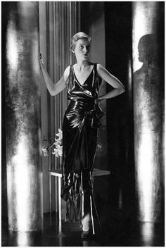 Bettina Jones in Schiaparelli Pinafore Dress - 1930 - Photo by George Hoyningen-Huene - Condè Nast Archive