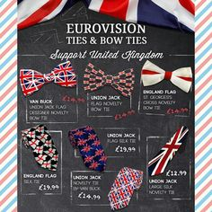 Show your support for the #UnitedKingdom #Eurovision2015 entry by checking out our #UnionJack items here: http://www.tiesplanet.com/search/union-jack #UK #Eurovision #GreatBritain #Menswear #Fashion #Accessories #GentsFashion #GentStyle #GentlemanStyle #Dapper #Suave #MensFashion #Tie #Ties #Bow #BowTie #BowTies #MenStyle #Handkerchiefs #Handkerchief #SuitAndTie #ShirtAndTie #Iconic #Instafashion