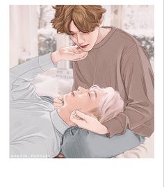 PLZ do not take it to anywhere without my permission Baekhyun Fanart, Chanbaek Fanart, Park Chanyeol Exo, Kpop Fanart, Exo Exo, K Pop, Exo Chanbaek, Exo Couple, Exo Fan Art