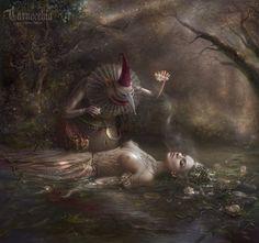 Nezhivika by cornacchia-art.deviantart.com on @deviantART