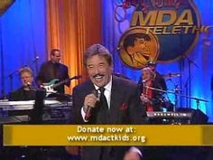 Tony Orlando Sings on the 2009 Jerry Lewis MDA Telethon with me!
