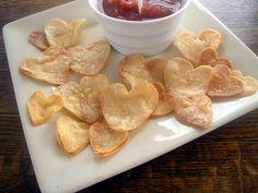Shaped Tortilla Chips