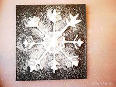 Salt painting - colorful ice crystals from salt - MontiMinis Salt Painting, Ice Crystals, 30 Day Challenge, Art For Kids, Activities, Montessori, Homeschooling, Colorful, Decoration