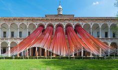 Arte - Instalações e Experiências  Instalação para a Semana de Design de Milão 2016, na Universidade de Milão, por MAD Architects. #arquitetura #arte #art #artlover #archilovers #design #architecturelover #instagood #instacool #instadesign #instadaily #inspiration #projetocompartilhar #shareproject #follow #like #davidguerra #arquiteturadavidguerra #arquiteturaedesign #instabestu #architect #criative #instalações #experiências #semanadedeisigndemilão #universidadedemilão #MADarchitects
