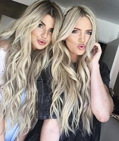 Boho hair hair on our Boutique To You models Kendall Evans and Shelby Pine