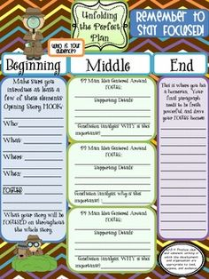 Writer's Workshop Freebie