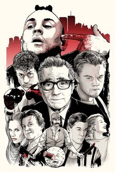 SCORSESE: AN ART SHOW TRIBUTE - Friday, April 19th - Sunday, April 21st, hosted at Bold Hype Gallery, NYC - Limited edition screen print by Joshua Budich