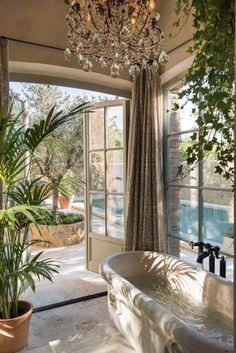 Rustic Italian Home – La Bella Vita Dream Home Design, My Dream Home, Home Interior Design, Interior Architecture, Interior And Exterior, House Design, Italian Interior Design, Dream House Interior, Shower Plant