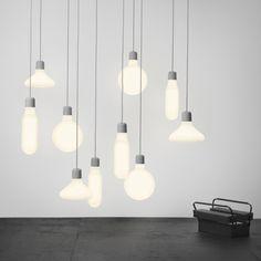 blown glass pendant lamps