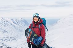 Anne-Flore Marxer is a top notch snowboarder of stunning virtuosity and who works to actively expand the role of women in action sports and greater society. Episode 3, Snowboarding, Women Empowerment, Rain Jacket, Windbreaker, Winter Jackets, Brand New, Sports, Iceland