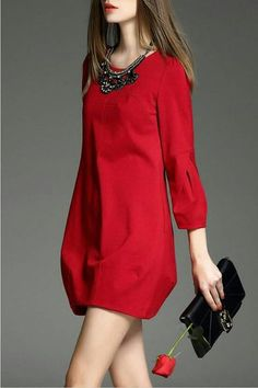 25 Summer Wear To Rock This Season - Luxe Fashion New Trends - Fashion Ideas Casual Dresses, Short Dresses, Casual Outfits, Dresses For Work, Mini Dresses, Red Dress Casual, Dress Red, Look Fashion, Womens Fashion