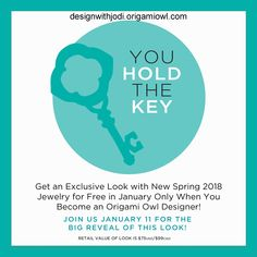 There are many reasons people join Origami Owl & exclusive designer looks are just one perk. Read more information on my website: designwithjodi.origamiowl.com