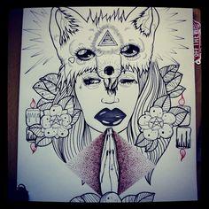 #draw #drawing #heart #love #models #drawings #flash #flashart #flowers #tattoos #art #ink #inked #tattooflash #rose #roses #halfmoon #moon #pentagram #candles #fox #LA #hands #tringle #eyes