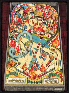 Phish Philadelphia Poster by LandLand