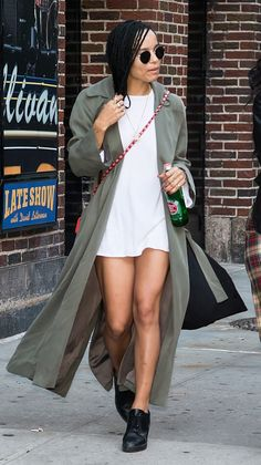 This look proves why Zoe Kravitz is one of the coolest girls in style right now...