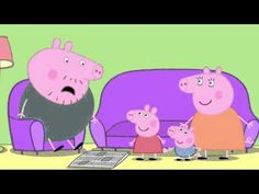 Peppa Pig: Daddy Loses his Glasses. Cartoons for Kids/Children