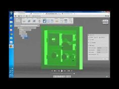 Shapeoko 2 Tutorial using Fusion 360 / CAM 360 by Autodesk Cnc Router Table, Cnc Table, Cnc Programming, Cnc Software, 3d Printing Diy, Cad Cam, Cad Drawing, Design Art, 3 D