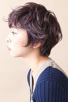 ショートヘアならラベンダーピンクでモード系に♪ 畑山拓也 | Baco.