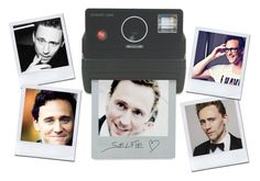 """""""Polaroid Selfies with Tom"""" by madfashionaddict ❤ liked on Polyvore featuring art"""