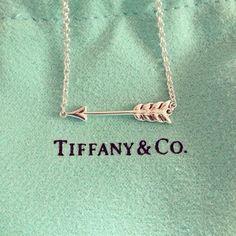 Tiffany&Co. arrow necklace<3