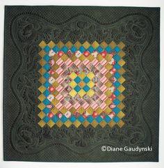 """Blossom's Journey"". Pilgrim/Roy Challenge Quilt 2012. Diane Gaudynski"