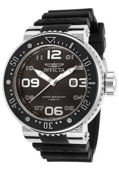 Invicta Watches Men's Pro Diver Black Silicone and Dial 21518,    #Invicta,    #21518,    #Diver