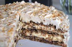 Najbolji domaći recepti za pite, kolače, torte na Balkanu Carrot Cake Iii Recipe, Torta Recipe, Easy Carrot Cake, Moist Carrot Cakes, Brze Torte, Posne Torte, Torte Recepti, Kolaci I Torte, Cake Cookies
