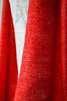 Christmas Orange  - Mayalu Nepalese Handmade  Shawls by MayaluShawls on Etsy