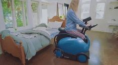 RODEM : A ROBOTIC WHEELCHAIR THAT CAN BE CONTROLLED VIA A SMARTPHONE Robot, Dining Chairs, Smartphone, Home Appliances, Canning, Health, House Appliances, Health Care, Dining Chair