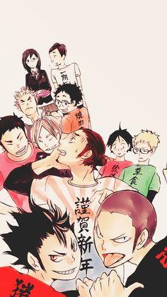 NEKOMA, tsukis: sugawara koushi (+karasuno team)...
