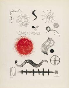 """artchiculture: """" Alexander Calder Untitled, 1946 """""""