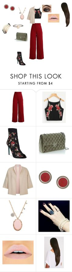 """chic outfit"" by helena94-1 on Polyvore featuring Betsey Johnson, MaxMara, Silhouette, Meira T and polyvorefashion"