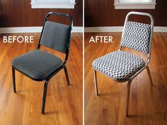 We Can Make Anything: desk chair, transformed!