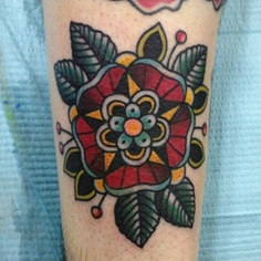 Mandala em flor
