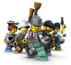 Steampunk LEGO Monster Fighters!