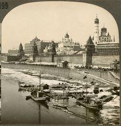 Кремлёвская набережная Old Pictures, Old Photos, Places Around The World, Around The Worlds, Moscow Kremlin, Old Photography, Beautiful Buildings, Paris Skyline, The Past