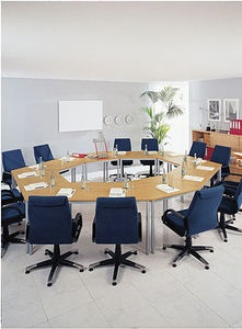 V Modular UShaped Conference Table Conference Tables Pinterest - Modular meeting table