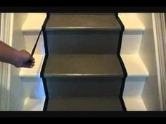 Kelly goes through the steps from sanding to painting and changes your stairs from shabby to chic !