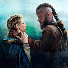 New video about vikings ! in particular Ragnar et Lagertha, for me it's one of my favorite couples, I love these 2 characters, I hope they will love again . Ragnar Lothbrok, Viking 1, Viking Series, Travis Fimmel, Norse Legend, Katheryn Winnick, Shield Maiden, History Channel, The Real World