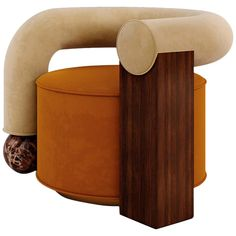 70s Furniture, Unique Furniture, Furniture Design, Vintage Furniture, Antique Chairs, Vintage Chairs, Emperador Marble, Modern Armchair, Modern Chairs