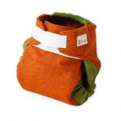 billeka - babys natural care and wear - hu-da Woll-Klettüberhose, ANTHRAZIT Orange Braun, Hats, How To Wear, Fashion, Products, Get Tan, Trousers, Moda, Hat