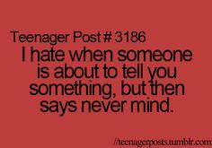 oh my gosh... HATE!!!