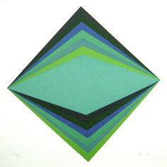 Hércules Barsotti - Serigrafia, 40x40 cm.