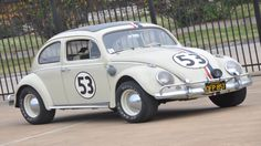 flashback! Herbie the Love Bug sold at auction for record $86k http://www.autoblog.com/2015/11/26/1953-vw-beetle-herbie-record-auction/