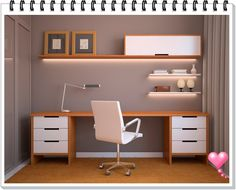 Home Office – Inspirem-se .. @LuhGuedes – Discurso Feminino